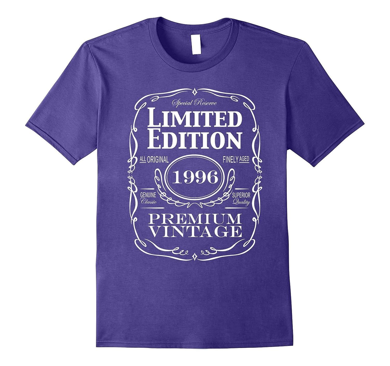 21st Birthday Gift T-Shirt - Born in 1996 Turning 21 Shirt-PL