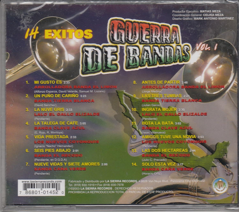Banda El Recodo, La Arolladora banda el limon, Banda Cana verde Banda Tierra Blanca - Los Morros Del Norte: En El Ultimo Momento - Amazon.com Music