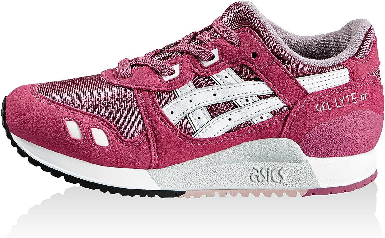 Asics Zapatillas Gel-Lyte III PS Magenta/Blanco EU 33 (US 1H): Amazon.es: Zapatos y complementos