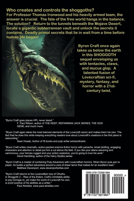Shoggoth 2: Rise of the Elders (The Mythos Project) (Volume 3): Byron  Craft: 9781722661984: Amazon.com: Books