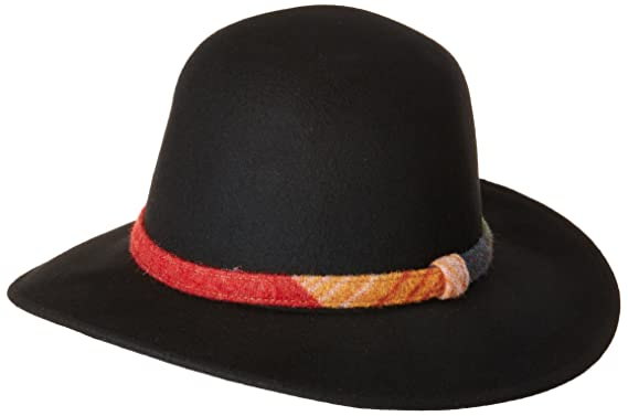 Woolrich Women s Wool Felt Pinch Front Hat Black One Size at Amazon ... c173eb75e5a