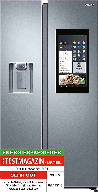 Samsung Rs8000 Familyhub Rs68n8941slef Side By Sidea178 Cm382