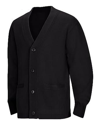 c2ab325c3b Amazon.com  Classroom Big Boys  Uniform Youth Unisex Cardigan Sweater  School  Uniform Cardigan Sweaters  Clothing
