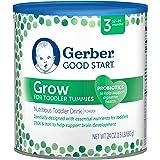 Gerber Good Start Infant Formula Grow Toddler Stage 3 Drink Powder, 24 Ounce, 4 Count