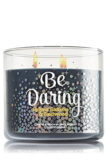 Amazoncom Bath and Body Works BE DARING Spiced Saffron and
