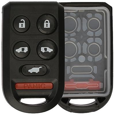 KeylessOption Just the Case Keyless Entry Remote Key Fob Shell: Automotive