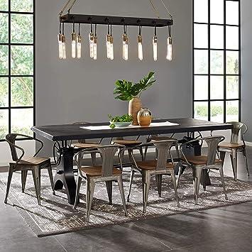 Amazon.com: Modway EEI-3275 Demarcate - Lámpara de araña con ...