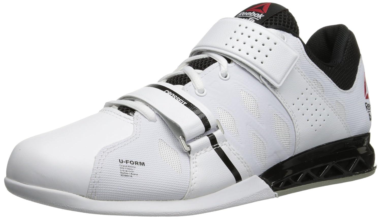 Reebok Men's Crossfit Lifter Plus 2.0 Running Shoe B00ODD1JL4 9.5 D(M) US|White/Black/Porcelain