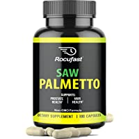 Rocufast Saw Palmetto Prostate Supplement for Prostate Health and Frequent Urination...