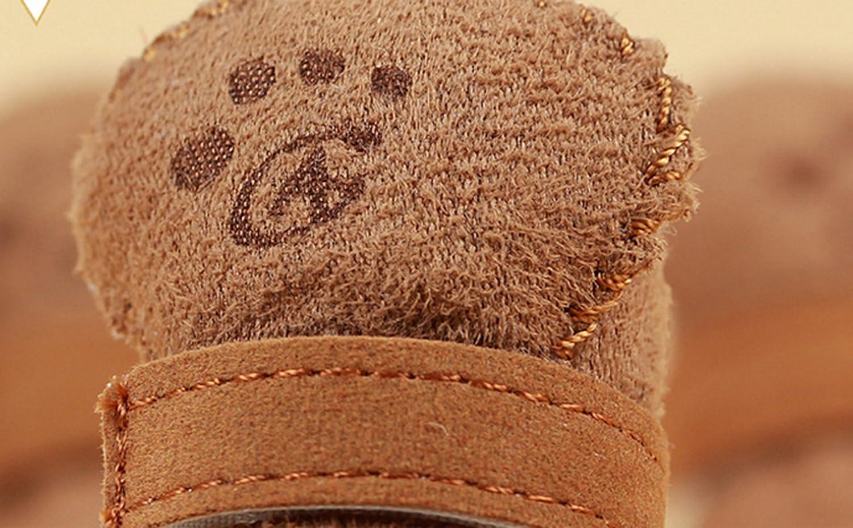 Mascota Perro Chihuahua Botas Perrito Zapatos para Perro Perrito 2 Colores 5 Tama/ños
