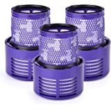 Corlean 3 Pack Replacement Part V10 Filters Suit for Dyson V10 Cyclone series, V10 Absolute, V10 Animal, V10 Total Clean, SV12, Replace Dyson part No. 969082-01
