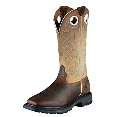 2d33e8b902b Ariat Men's Workhog Wide Square Toe Tall Steel Toe Work Boot