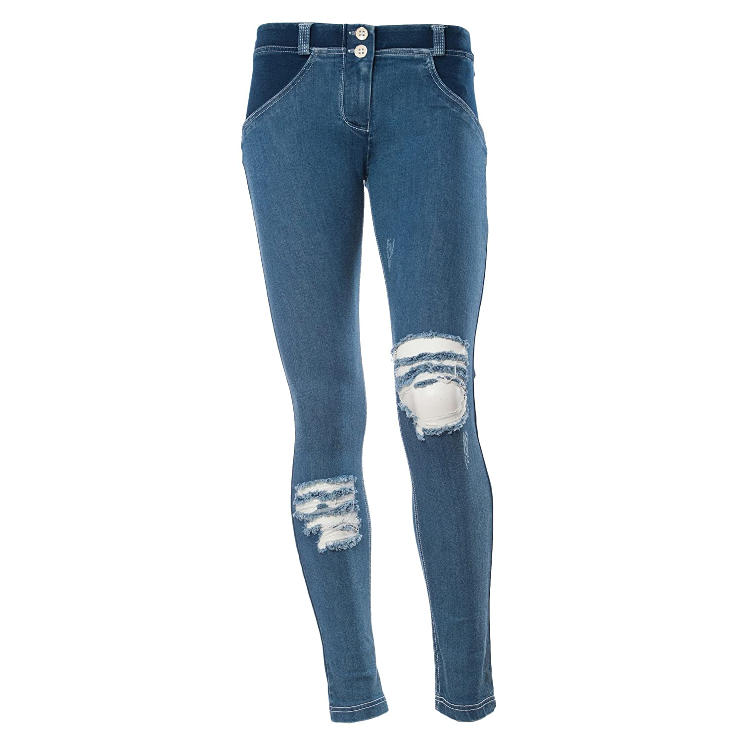Amazon.com: Freddy WR hasta Denim – Skinny Push Up ...