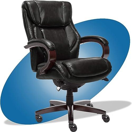 La-Z-Boy Bellamy Executive Bonded Leather Office Chair