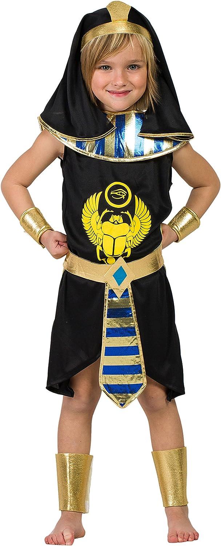 Disfraz Egipcio negro (5-6 AÑOS): Amazon.es: Juguetes y juegos