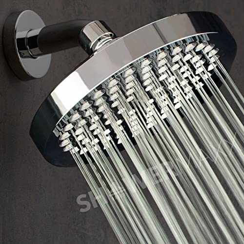 ShowerMaxx Premium Shower Head - Luxury Spa Rainfall High Pressure 6"