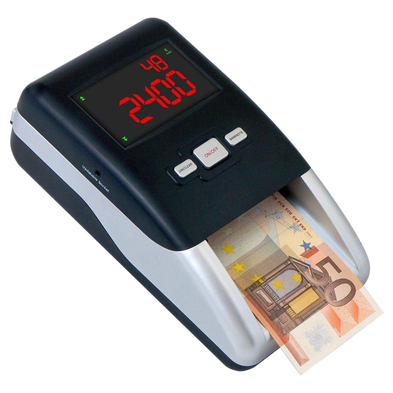 Securina24® - Detector de billetes falsos SR-2100, SR2100 UV/MG/MT/IR
