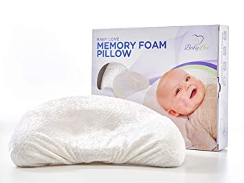 US Baby Newborn Head Protection Infant Pillow Memory Foam Sleeping Soft Cushion