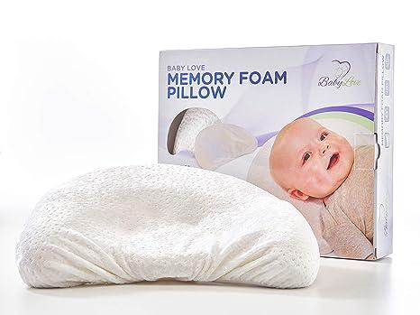 Amazon.com: Almohada de memoria de espuma moldeador Baby ...