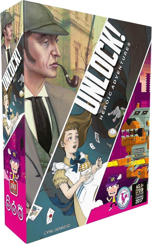 UNLOCK! Heroic Adventures: Amazon.es: Juguetes y juegos