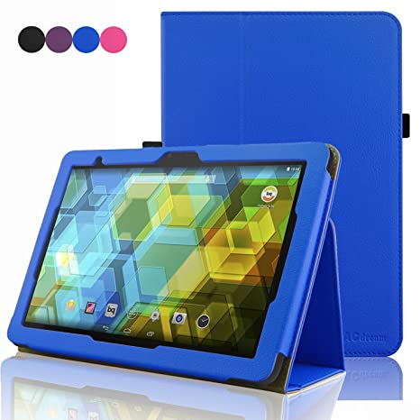 BQ Tablet Edison 3 10.1 Inch Case, ACdream Folio Premium PU ...