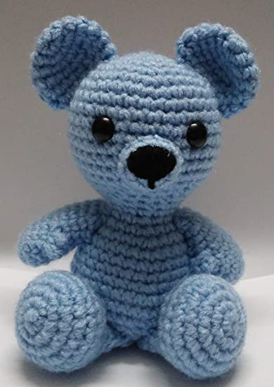 Amigurumi Plush Bear Crochet Free Patterns - Crochet & Knitting | 550x390