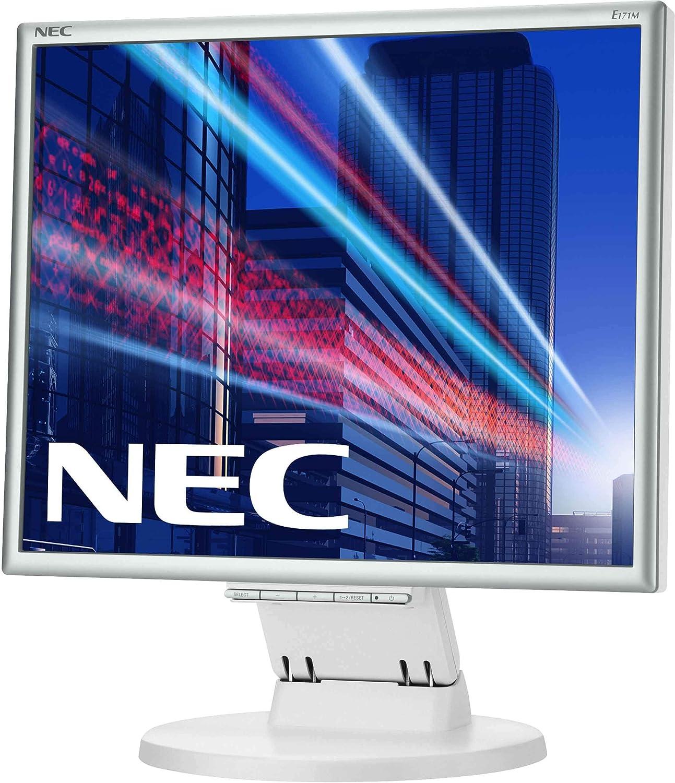 1280 x 1024, LED, VGA, DVI-D Blanco NEC MultiSync E171M Monitor de 17