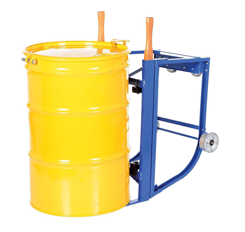 Steel Vestil RDC-1000-5SS Deluxe Rotating Drum Cart with Steel Wheel 1000 lbs Capacity