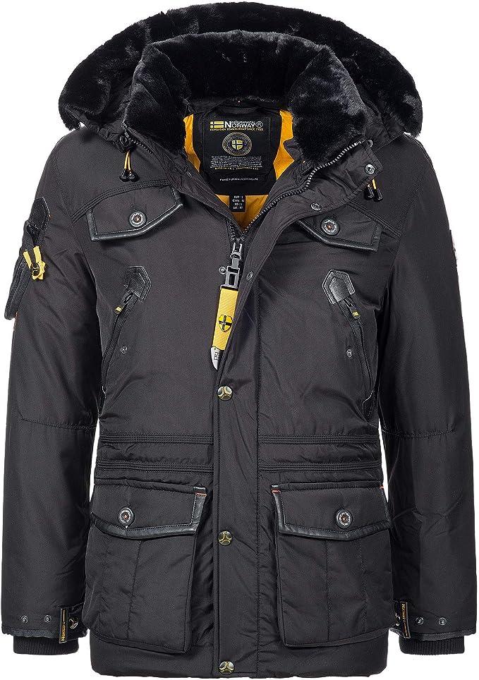 geographical norway avoriaz herren winterjacke winter parka jacke outdoor mantel