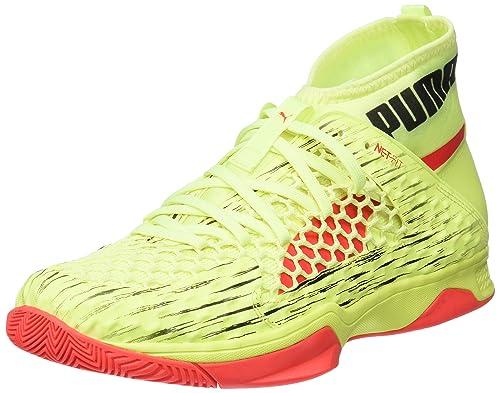 Puma Evospeed Indoor Netfit Euro 1, Chaussures Multisport Mixte Adulte