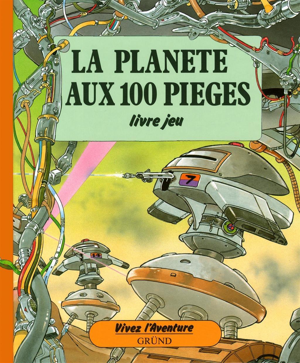 La Planete Aux 100 Pieges Livre Jeu Amazon Ca Patrick