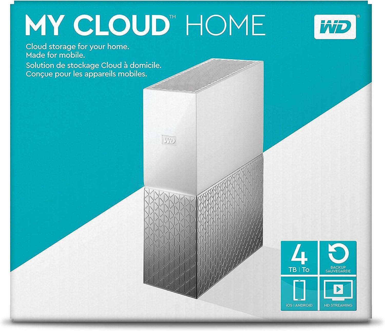 WDBVXC0080HWT-NESN Renewed WD 8TB My Cloud Home Personal Cloud Storage