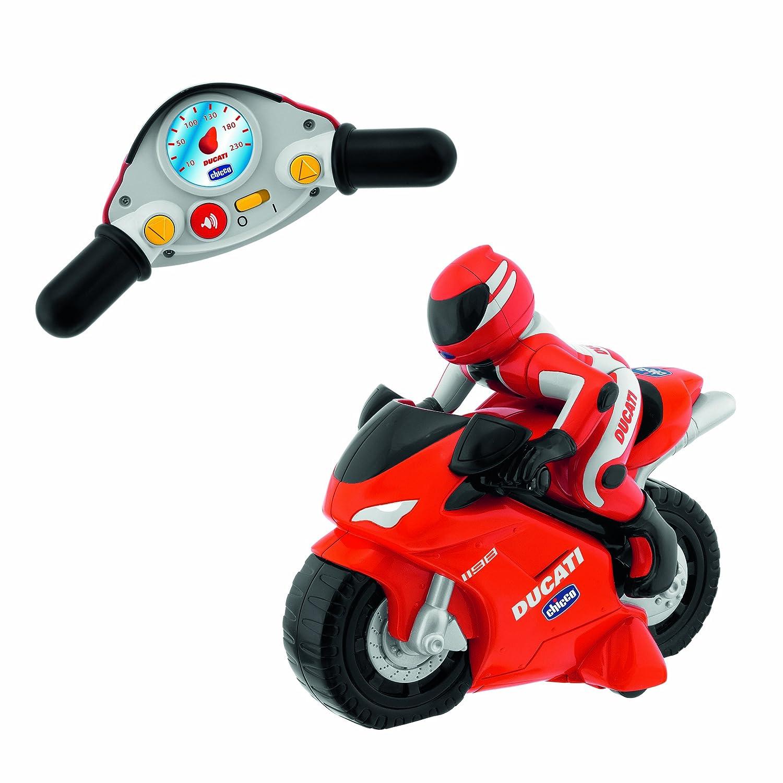 Chicco - Motocicleta radiocontrol Ducati 1198, con mando intuitivo y ...