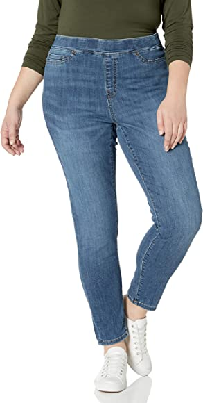 Essentials Damen Jeans Pull-on Jegging