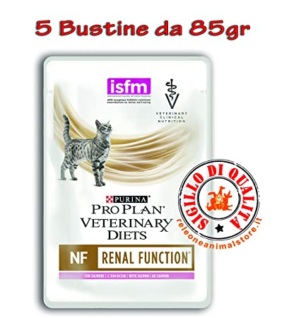 Purina Veterinary Diet gato NF renal Function al Salmón 5 ...