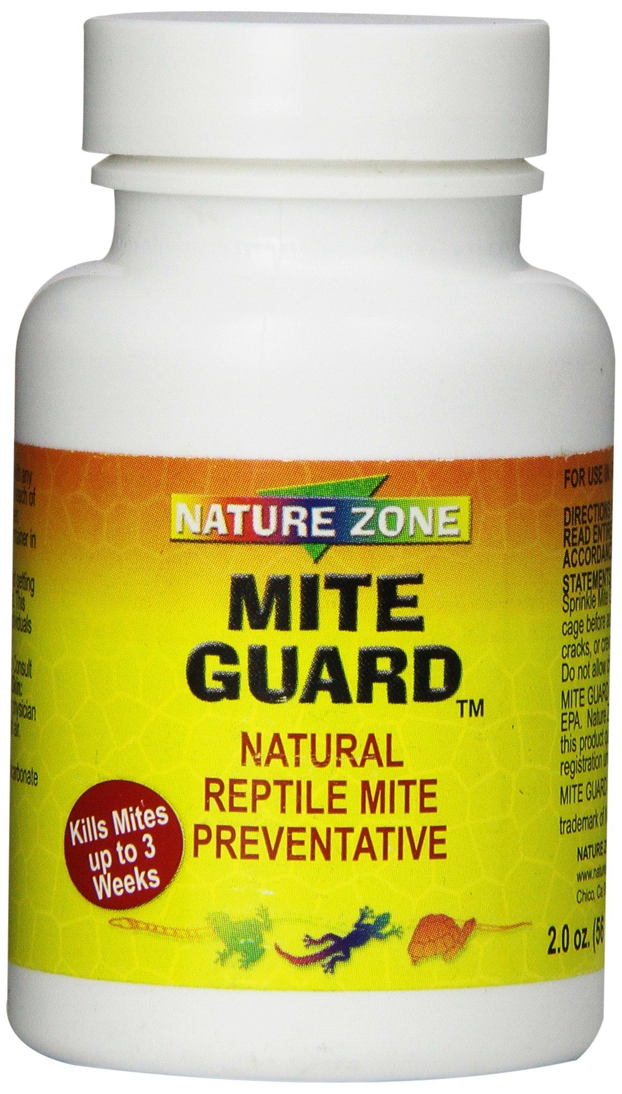 Nature Zone SNZ59311 Reptile Mite Guard Powder, 2-Ounce