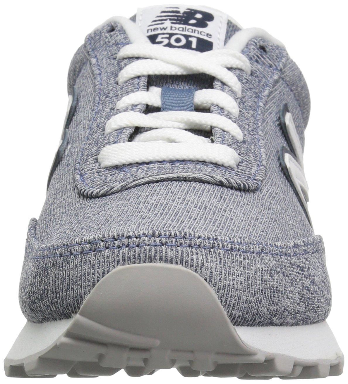 New Balance Women's 501v1 Sneaker B0751S1B3H 11.5 B(M) US|Deep Porccccccccccccccccelain Blue/Galaxy