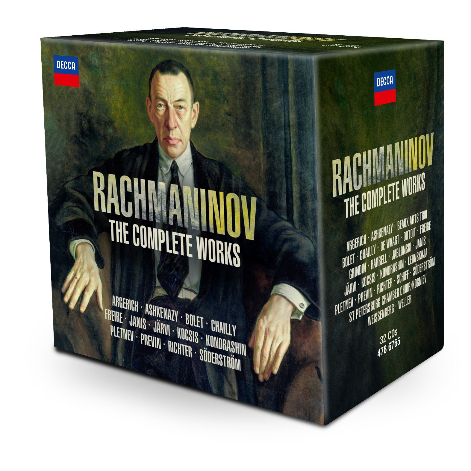 Rachmaninov: The Complete Works [32 CD][Limited Edition]