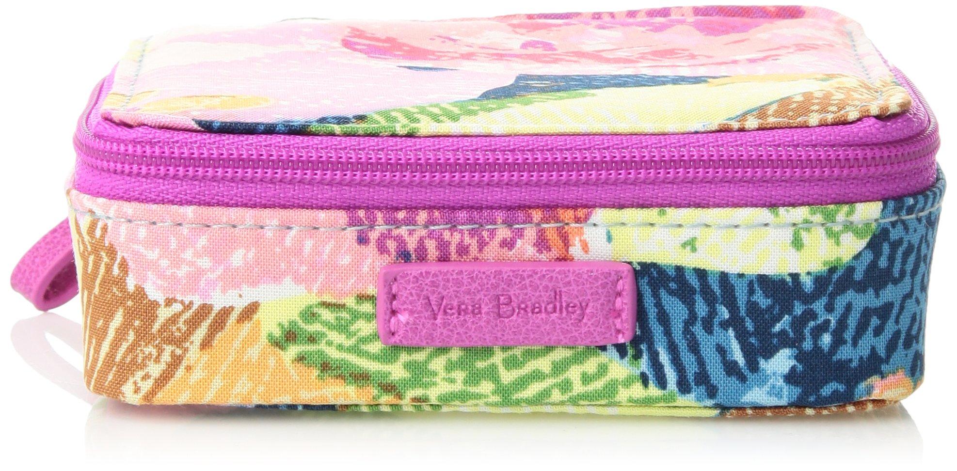 Vera Bradley Iconic Travel Pill Case, Signature Cotton, Superbloom