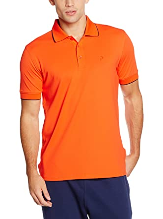 PEAK PERFORMANCE Polo G Tech Pique Naranja S: Amazon.es: Ropa y ...