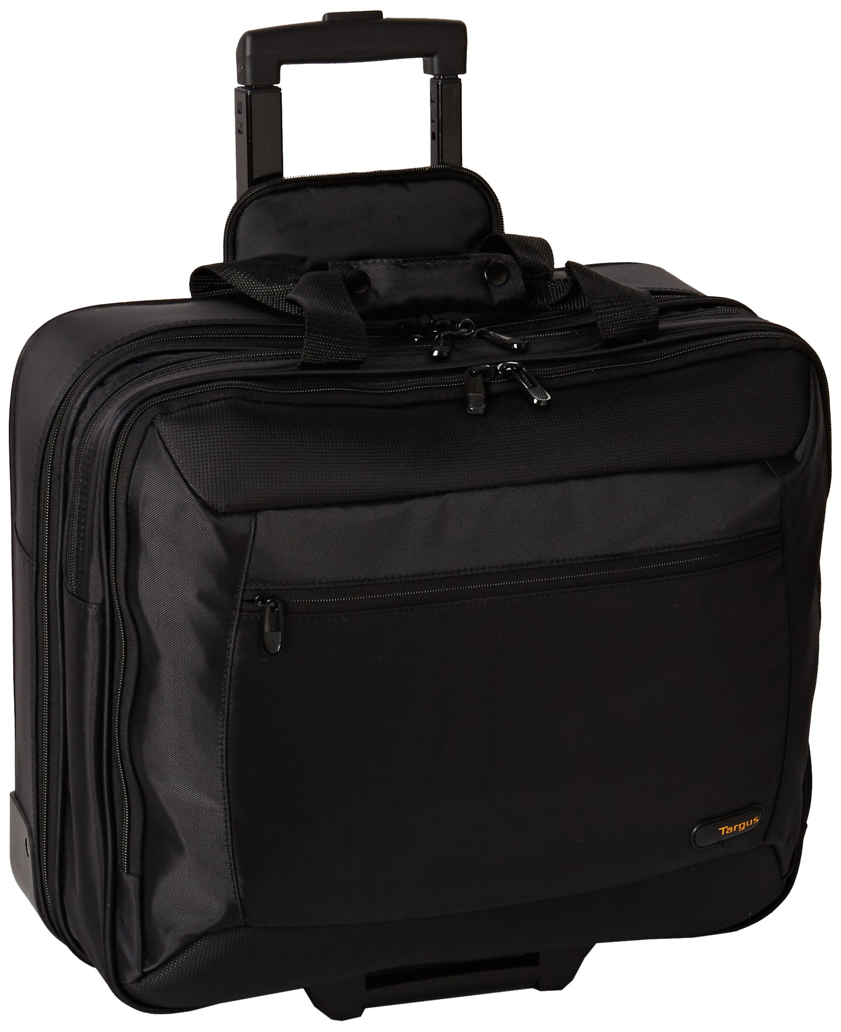 Targus CityGear Rolling Travel Case for 17.3-Inch Laptops, Black (TCG717) by Targus