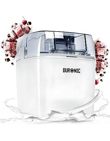 Duronic IM540 Heladera 1,5 L para Helados, Sorbete y Yogur Helado Máquina para