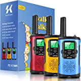 Supker Walkie Talkies for Kids 3Pack, 22 Channels 2 Way Radio Toy , Kids Talks Toy for 3-12 Year Old Boys Girls Gift, 3…