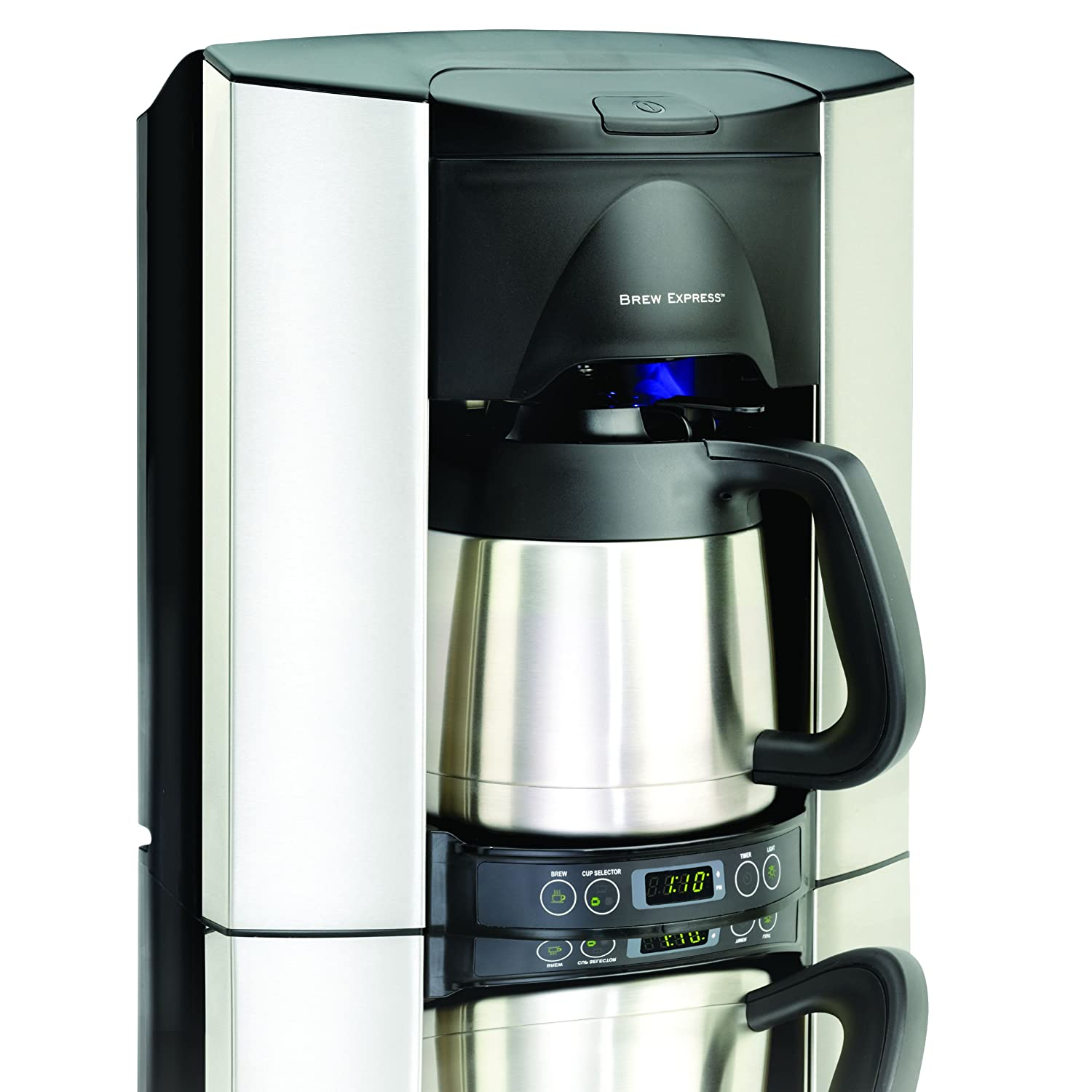 water hookup coffee makers