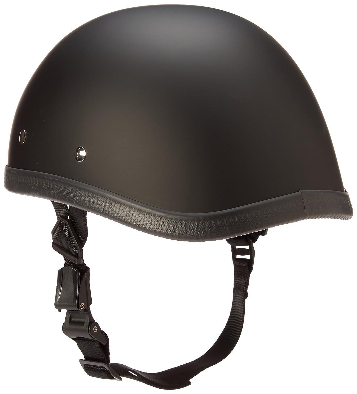 Daytona Novelty Helmet Eagle, Dull Black, Large Daytona Helmets 1002B-L