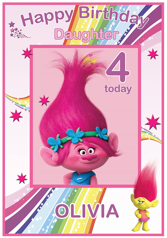 personalised hello kitty reward potty training chart amazon co personalised trolls inspired birthday card poppy