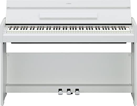 4 opinioni per Yamaha NYDPS52WH Pianoforte Digitale, Bianco