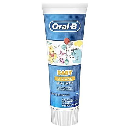 Oral-B Stages Mickey y Minnie Pasta Dentífrica Anticaries Sin Azúcar 75 ml