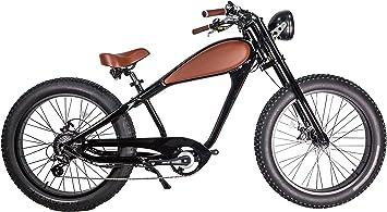 CIVI BIKES Vintage Bicicleta Eléctrica Fat Tire Sport Bicicleta 750W ...