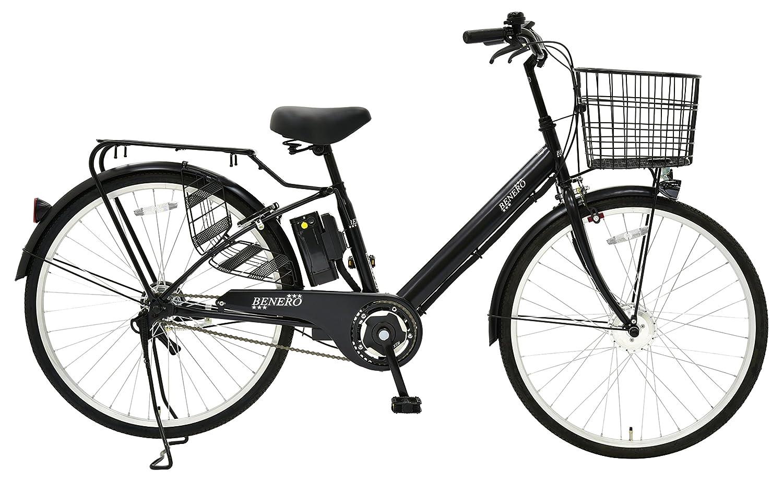 EISAN(エイサン) 電動アシスト自転車 AS-261W-E B0761LVDPQ ブラック ブラック